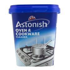Astonish oven cookware cleaner - Clean burnt grease oven pots pans ...